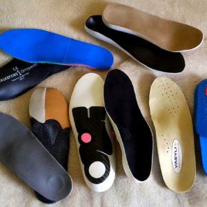 Wkładki i obuwie